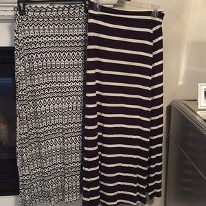 Charlotte Russe maxi skirts